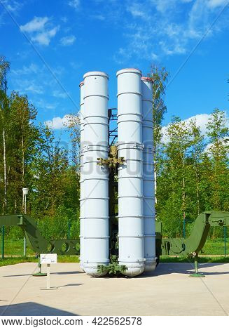 Russia. Moscow Oblast. Patriot Park. May 22, 2021. S-300 Anti-aircraft System At The Military Equipm