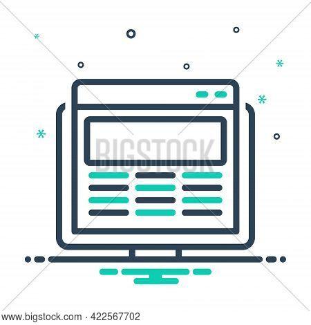 Mix Icon For Web-design Web Design Service Website Creativity Technology Provider Template Screen De