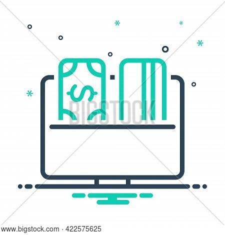 Mix Icon For Payment-options Payment Options Account Buying Commerce Currency Dollar Finance Investm