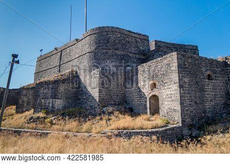 Main Citadel, Heart Of Kars Castle. Almost Unattackable, It Was Built In 1153 From Black Basalt Bric