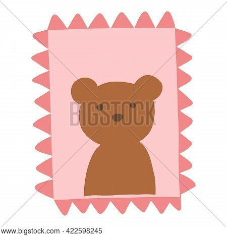 Collection Envelope With Mail, Postmark And Postcard Vector Flat, Cartoon Illustration. Various Craf