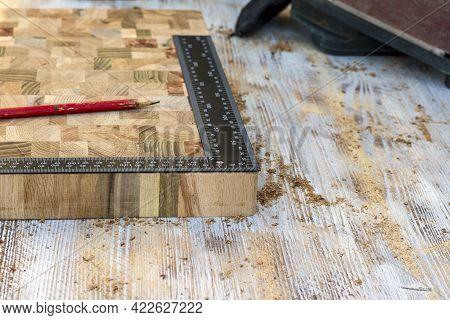 Manufactured Oak Cutting Board For End Fibers