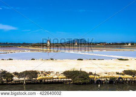2021 05 29 Marsala Windmills In The Salt Flats 2