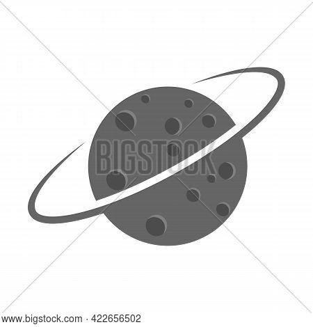 Illustration Vector Design Graphic Of Planet Logo