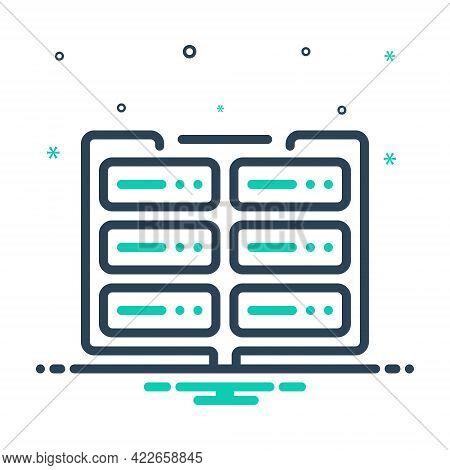 Mix Icon For Data Data-encryption Encryption Gadget Storage Database Interconnected Application Docu