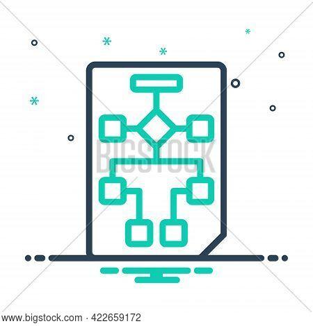 Mix Icon For Workflow-planning Workflow Planning Plan Project Development Diagram Flowchart Organiza