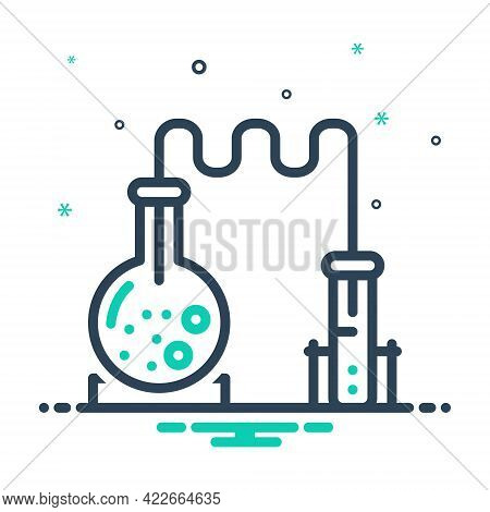 Mix Icon For Science Forensis Formula Helix Research Beaker Scientific