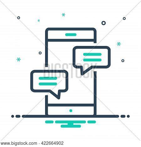 Mix Icon For Chat Conversation Gossip Prattle Converse Bubble Discussion Conversation Dialogue Notif