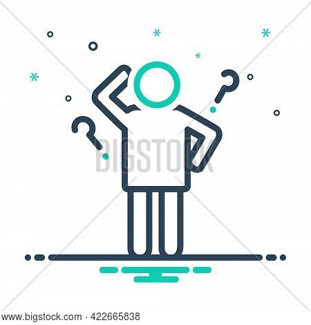 Mix Icon For Idea Opinion Conclusion Enterprising Visionary Consideration Thought Mind Person