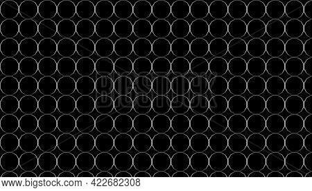 Black Background And Metallic Twelve - Abstract