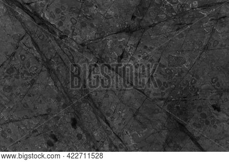 Black Or Grey Marble Stone Background. Dark Grey Marble,quartz Texture Backdrop. Wall And Panel Marb
