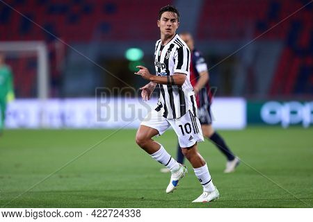 Bologna, Italy. 23th May 2021 . Paulo Dybala Of Juventus Fc  During The Serie A Match Between Bologn