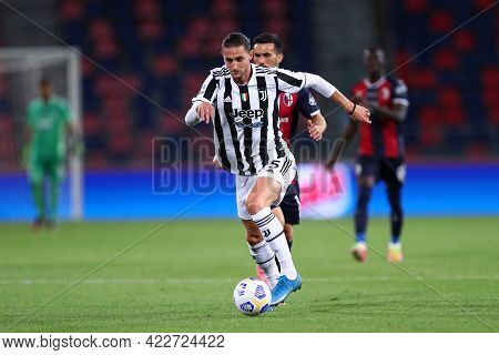 Bologna, Italy. 23th May 2021 . Adrien Rabiot Of Juventus Fc  During The Serie A Match Between Bolog
