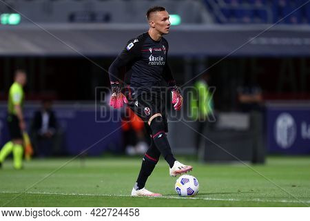 Bologna, Italy. 23th May 2021 . Lukasz Skorupski Of Bologna Fc  During The Serie A Match Between Bol