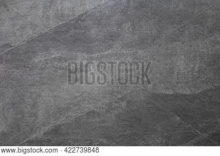 Dark Grey Stone Wall Texture . Gray Rough Backdrop. Stucco Surface. Abstract Pattern. Texture Of Nat