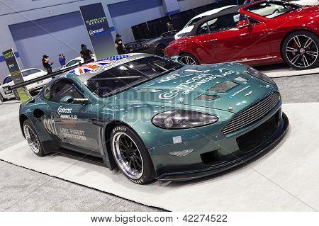 Aston Martin 007 Race Car