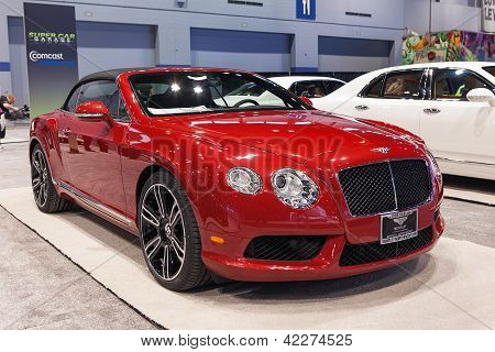 Bentley Continental Gt 2013 Chicago Auto Show