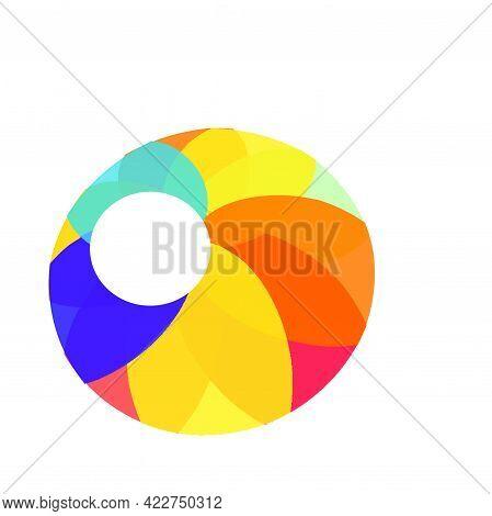 Colorful Circle Team Mate Circle Logo And Vector Icon