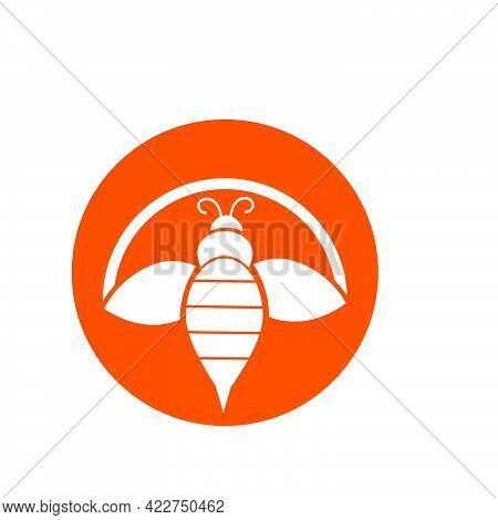 Sun Bee Light Logo And Vector Icon