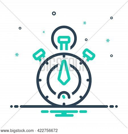 Mix Icon For Timer-or-chronometer-tool Stopwatch Timer Analogue Equipment Accuracy Precision Measure