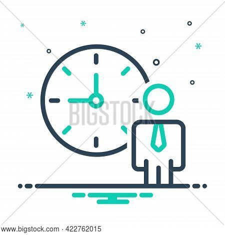 Mix Icon For Personal-schedule Timetable Roster Program Itinerary Appointments Deadline Punctual Sch