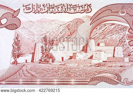 Fortified Tribal Village From Afghani Money - Afghanis