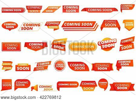 Coming Soon Icon. Cartoon Of Coming Soon Vector Icon For Web Design Isolated On White Background