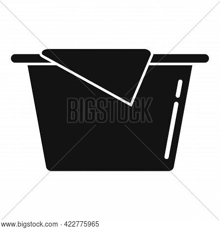 Softener Basin Icon. Simple Illustration Of Softener Basin Vector Icon For Web Design Isolated On Wh