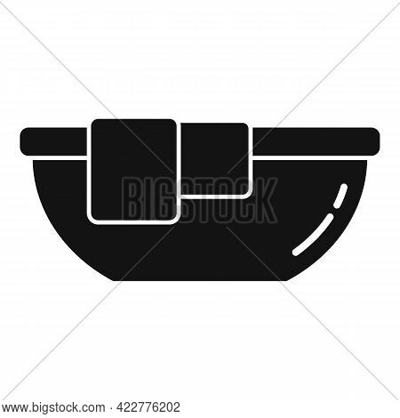 Softener Clothes Basin Icon. Simple Illustration Of Softener Clothes Basin Vector Icon For Web Desig