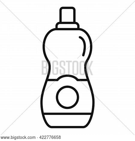 Softener Icon. Outline Softener Vector Icon For Web Design Isolated On White Background