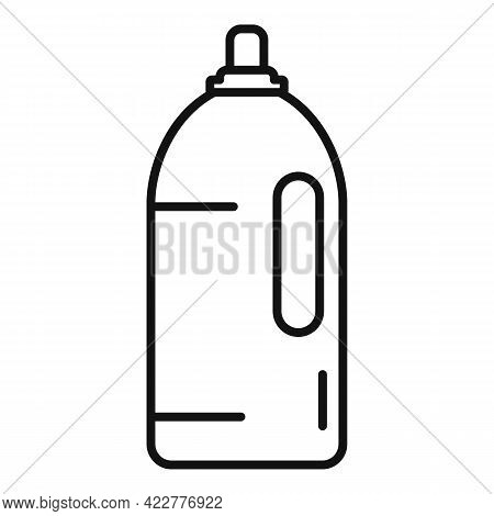 Softener Conditioner Icon. Outline Softener Conditioner Vector Icon For Web Design Isolated On White