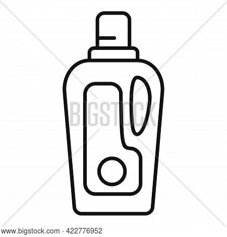 Softener Care Bottle Icon. Outline Softener Care Bottle Vector Icon For Web Design Isolated On White