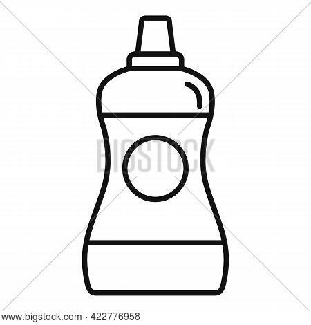 Softener Bathroom Icon. Outline Softener Bathroom Vector Icon For Web Design Isolated On White Backg
