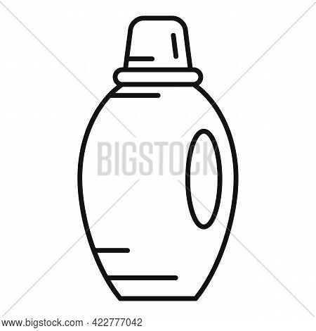 Softener Detergent Icon. Outline Softener Detergent Vector Icon For Web Design Isolated On White Bac
