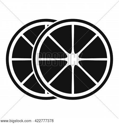 Essential Oils Citrus Icon. Simple Illustration Of Essential Oils Citrus Vector Icon For Web Design