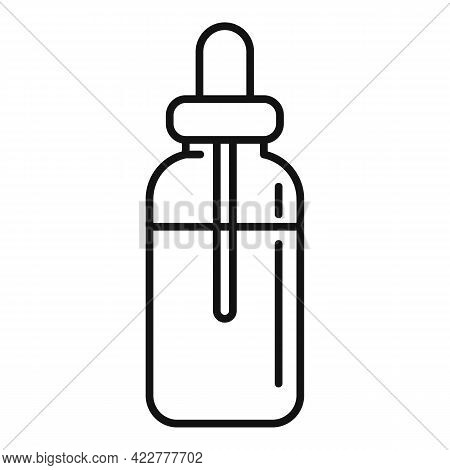 Essential Oils Herbal Bottle Icon. Outline Essential Oils Herbal Bottle Vector Icon For Web Design I