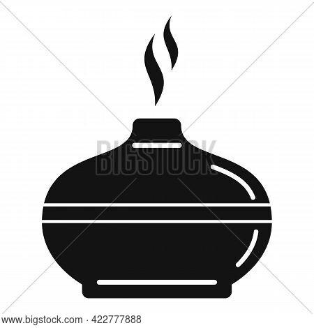 Aromatherapy Diffuser Icon. Simple Illustration Of Aromatherapy Diffuser Vector Icon For Web Design