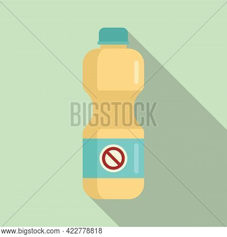 Disinfection Bleach Icon. Flat Illustration Of Disinfection Bleach Vector Icon For Web Design