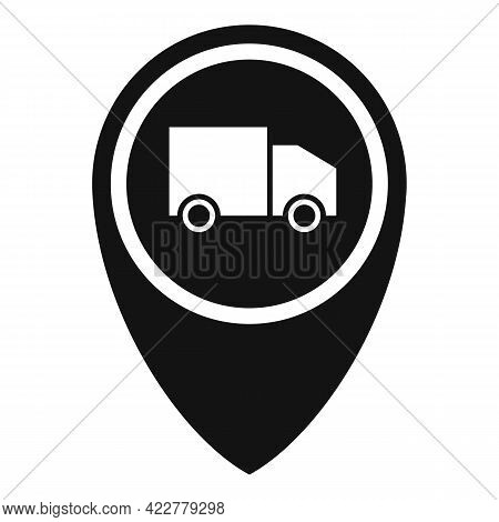 Tracking Home Delivery Icon. Simple Illustration Of Tracking Home Delivery Vector Icon For Web Desig