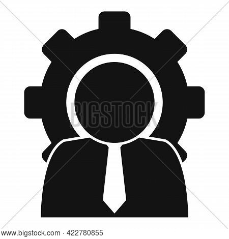 Outsource Manager Icon. Simple Illustration Of Outsource Manager Vector Icon For Web Design Isolated