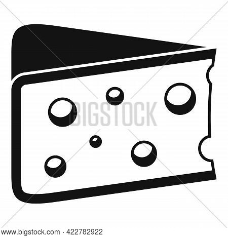 Cheese Kind Icon. Simple Illustration Of Cheese Kind Vector Icon For Web Design Isolated On White Ba