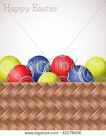 Wicker Easter Car