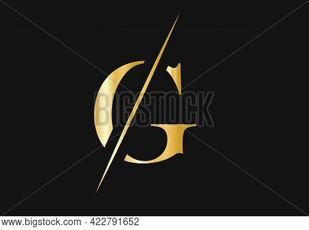 Elegant And Stylish G Logo Design For Your Company. G Logo For Luxury And Fashion Branding.
