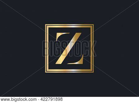Elegant And Stylish Z Logo Design For Your Company. Z Logo For Luxury And Fashion Branding.