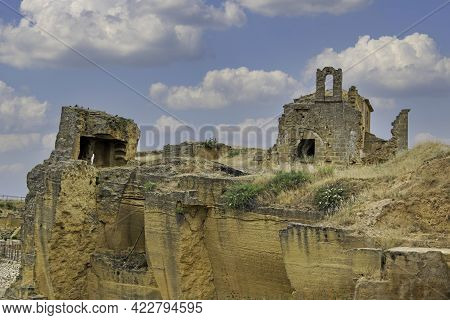 Hermitage Of The Abandoned And Ruined Via Sacra, Osuna, Seville, Andalusia, Spain