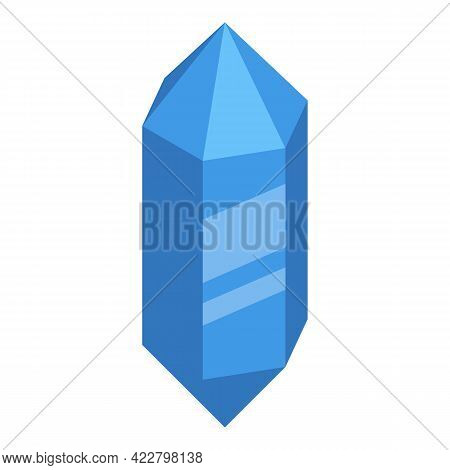 Spiritual Practices Gemstone Icon. Isometric Of Spiritual Practices Gemstone Vector Icon For Web Des