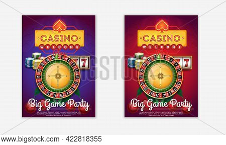 New Casino Flyer Template  These Cv /resume  Will Help You Create Beautiful Posts To Promote And Fre