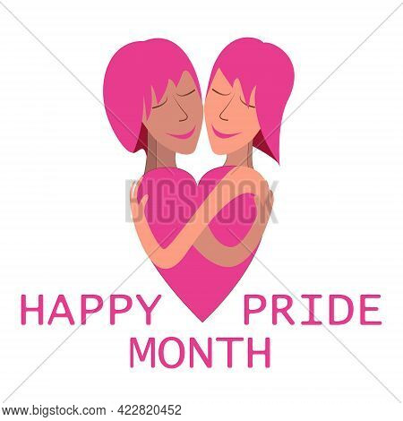 Happy Couple Lgbt Community. Right To Equality, Homosexual Lifestyle, Lgbt And Relationship Concept,