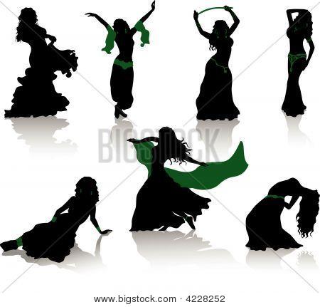 Belly Dancer Images Illustrations Vectors Free Bigstock