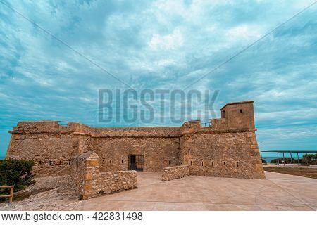 Sant Jordi De Alfama Fortress In Ametlla De Mar, Spain